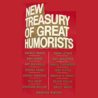 New Treasury of Great Humorists cover art