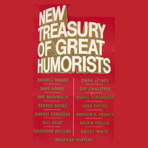 New Treasury of Great Humorists audiobook cover art