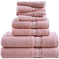 8-Piece Chateau Home Collection Blush Bath Towels Set (Assorted Colors)