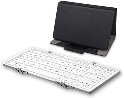 PsgWXL Tragbare Bluetooth Tastatur DREI Bluetooth Tastatur Android Tablet Handy Universal Tragbare Drahtlose Tastatur Schätzpreis : 109,00 €