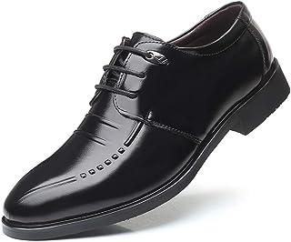 XIGUAUK Chaussure en Cuir de Costume d'uniforme Habillé Automne Printemps Homme Chaussure de Business de Travail Décontrac...