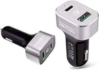 KFZ 63 Watt   12V Ladegerät für Business Notebooks, Macbooks, Tablets und Smartphones (Power Delivery