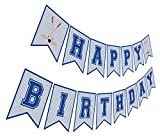 Hockey Birthday Banner, Ice Hockey Happy Birthday Sign, Hockey Party Decorations, Party Supplies