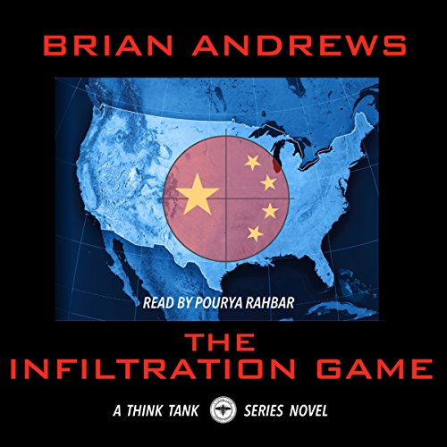 The Infiltration Game audiobook cover art
