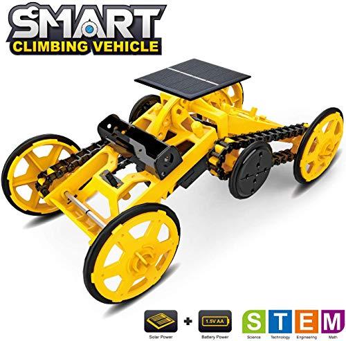 Yerloa Stem Spielzeug Bildung Solar Engineering Fahrzeug DIY Building Science Experiment Kit für Kinder ab 10 Jahren Entwickeln Sie Kinder Kultivierung von Kreativität und Intelligenz