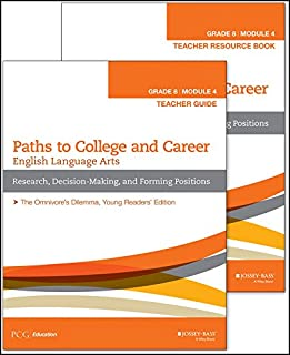 English Language Arts, Grade 8 Module 4: Research, Decision Making, and Forming Positions, Teacher Set