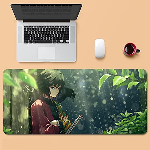 Mouse pad Demon Slayer Kochou Shinobu 40 x 90 cm, mouse pad para jogos XGG - cor 1_31,5 x 11,8 pol/80 x 30 cm