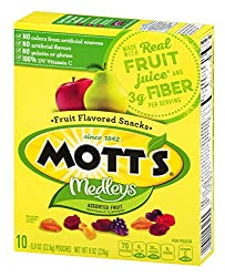 Mott's Original Fruit Flavored Snacks, 8 oz (10 Pouches)