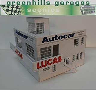 Greenhills Scalextric Slot Car Building Kit Goodwood Clubhouse 1:32 Scale MACC403