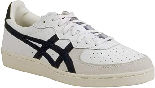 Onitsuka Tiger - Unisex-Adult GSM Turnzapatos, Talla  6.5 D(M) US, Color  blanco negro