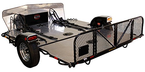 Double Motorcycle Trailer