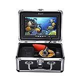Eyoyo 15M 1000TVL 7 Underwater Fishing Camera 12PCS IR LEDs Free Sun-visor Fishfinder
