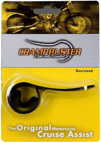Crampbuster CB3 Black Throttle Mounted Motorcycle Cruise Assist
