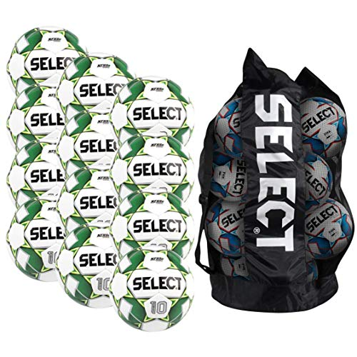 Select Numero 10 Soccer Ball - Team Pack of 12 with Duffle...