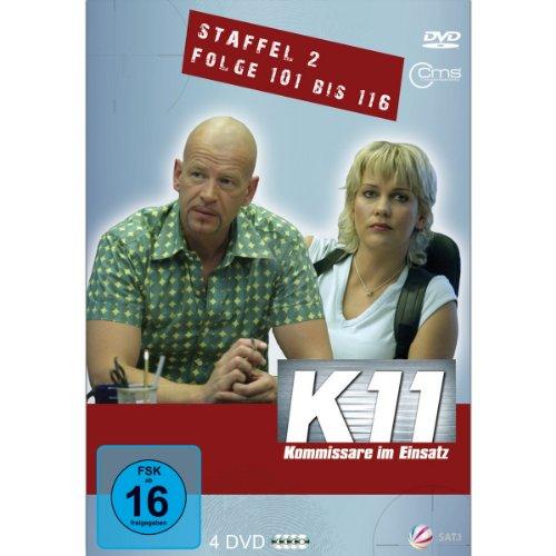 K11 - Kommissare im Einsatz Staffel 2 Folge 101-116 [4 DVDs]