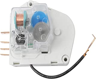 W10822278 Refrigerator Defrost Timer Compatible for Whirlpool KitchenAid Kenmore Refrigerator by Swess Replaces PS11723171, 945514, 482493 Defrost Timer Control (1)