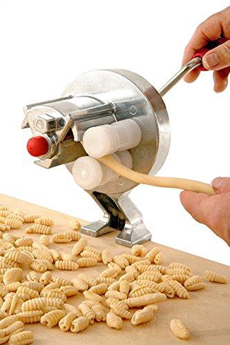 """Mamamia, macchina per la pasta originale italiana """"Little Mama"""" per cavatelli e gnocchetti"""