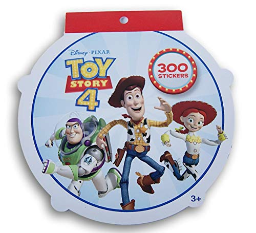 Toy Story 4 Sticker Pad - 7.5 x 8 Inches - 300 Stickers