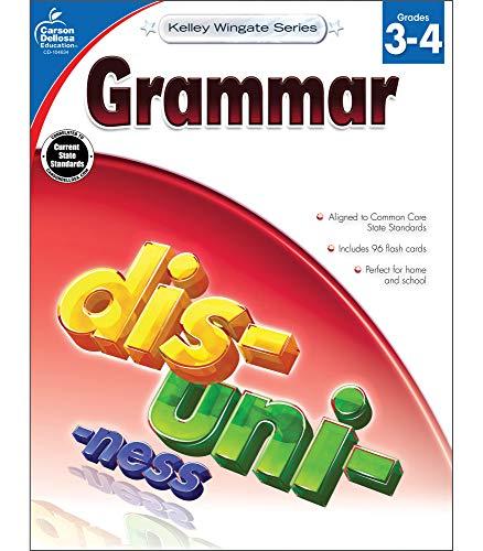 Carson-Dellosa Kelley Wingate Series Common Core Edition Grammar Workbook, Grades 3 - 4 (Ages 8 - 10)