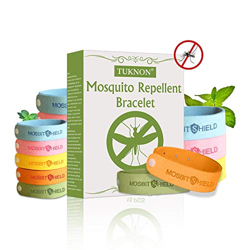 TUKNON Bracelet Anti-Moustique, Mosquito Repellent...