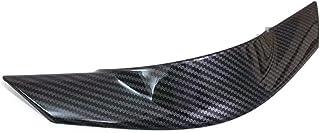 XINGFUQY Auto Lenkrad Panel Abdeckungs Ordnung gepasst for Mazda CX5 2017 2018 1 Stück schwarzer Carbon Faser Interio Dekoration Zubehör