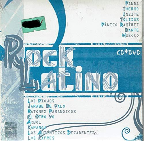 Rock Latino Cd+Dvd IMPORT