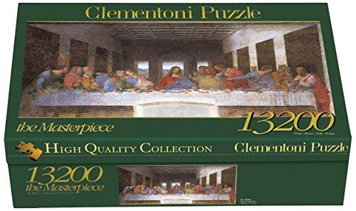 Clementoni Puzzle 38005 - Leonardo - Cenacolo -  13200 pezzi High Quality Collection