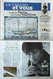 FIGARO ET VOUS (LE) [No 20603] du 28/10/2010 - L'ODE DE SIGNAC A LA FRANCE MARITIME - LE CREATEUR DE PLEATS PLEASE LANCE SON DERNIER CONCEPT / ISSEY MIYAKE - 2 SIECLES D'HISTOIRE DE L'AERONAUTIQUE AUX ENCHERES - SALON DU CHOCOLAT
