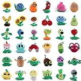 Juguetes de Plants Vs Zombies de 20cm, Peluches para niños, Plants Vs Zombies 2 Dolls, Peluches de peluche blandos 36 estilos