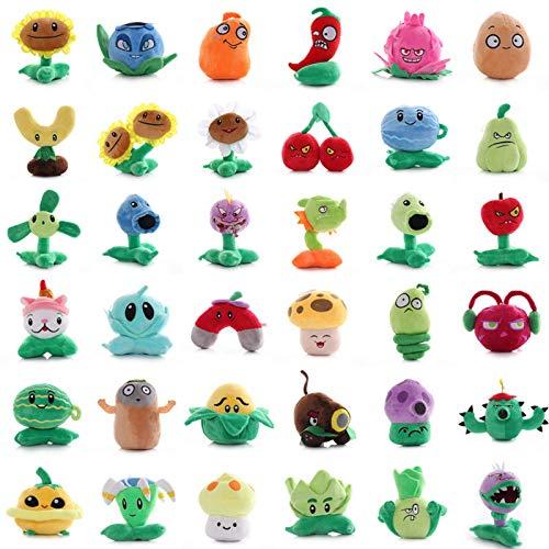 Giocattoli Plants Vs Zombies da 20 cm , Giocattoli di peluche per bambini , Plants Vs Zombies 2 bambole , Peluche 36 stili