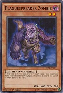 YU-GI-OH! - Plaguespreader Zombie (SDSE-EN021) - Structure Deck: Synchron Extreme - 1st Edition - Common