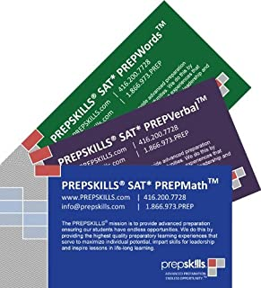 Prepskills® SAT Math and Verbal PrepCards™