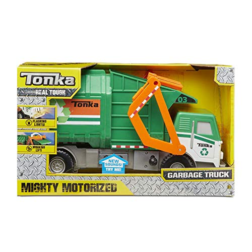 Product Image of the Tonka Funrise Toy Mighty Motorized Garbage Truck