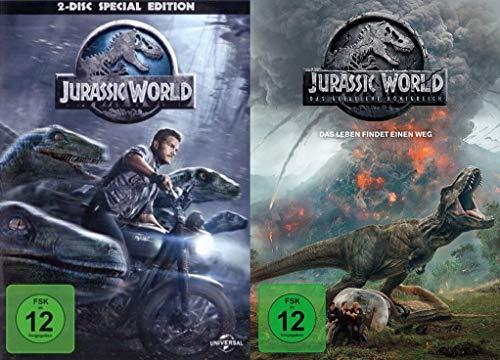 Jurassic World - Special Edition + Jurassic World - Das gefallene Königreich - DVD Set (3 DVDs)