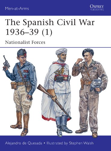 The Spanish Civil War 1936–39 (1): Nationalist Forces (Men-at-Arms Book 495) (English Edition)