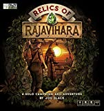 Relics of Rajavihara (KICKSTARTER Deluxe Edition) A Solo Campaign & Adventure. Slide Blocks, Avoid Obstacles, Solve Puzzles, Collect gems & Defeat Your Nemesis.