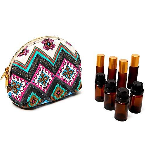 CaoDquan etherische olie opbergdoos 10-15ML etherische oliën etherische oliën geavanceerde bescherming pakket reisorganisator zakken etherische olie houten doos opbergdoos