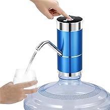 LEJIA Waterpomp Dispenser, draagbare bekervorm USB oplaadbare automatische elektrische waterpomp knopdispenser voor thuis,...