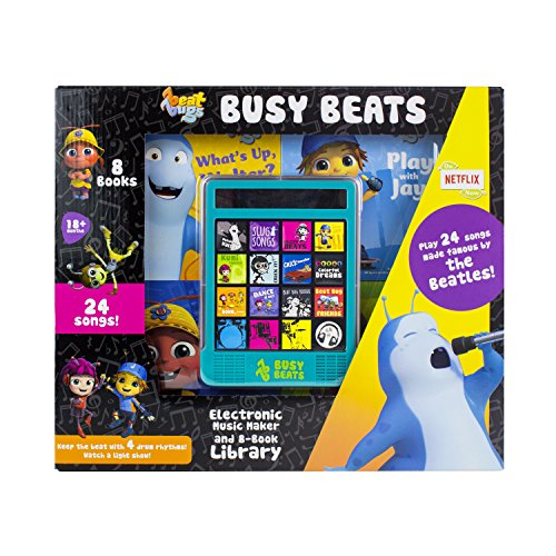Netflix - Beat Bugs & The Beatles - Busy Beats Electronic Music Maker and 8-Book Library - PI Kids