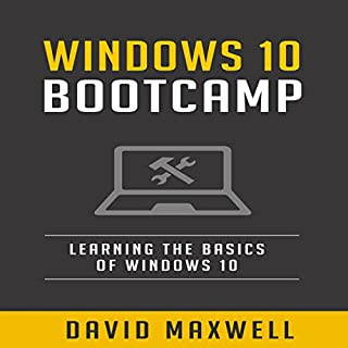 Windows 10 Bootcamp     Learn the Basics of Windows 10 in Two Weeks!              By:                                                                                                                                 David Maxwell                               Narrated by:                                                                                                                                 Pete Beretta                      Length: 36 mins     1 rating     Overall 1.0