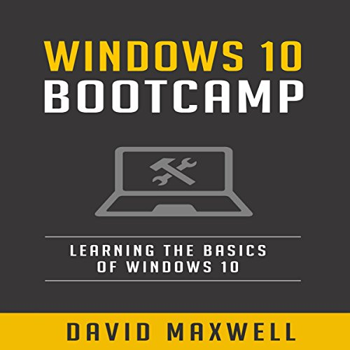 Windows 10 Bootcamp audiobook cover art