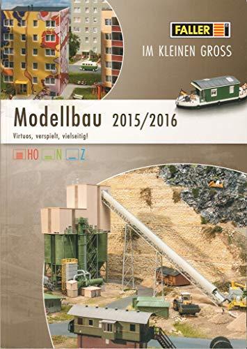 Faller Modellbau 2015/2016 Katalog