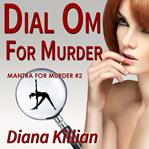Dial Om for Murder audiobook cover art