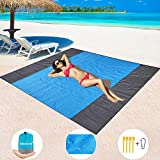 Best Beach Blanket Sand Frees - BMHNOONE Sand Free Beach Blanket, Oversize Sand Free Review