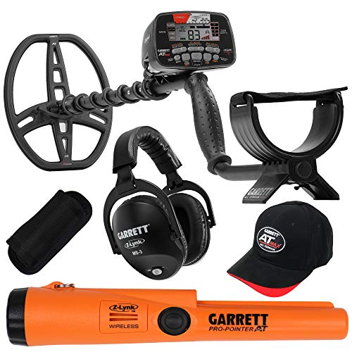 Garrett AT MAX Waterproof Metal Detector, MS-3...