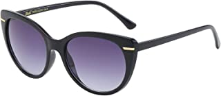OWL Pouch Giselle Fancy Contemporary Cat Eye Women's Sunglasses Gradient Lens