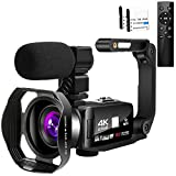 Best Camcorders - Video Camera 4K HD 48MP 18X Digital Zoom Review