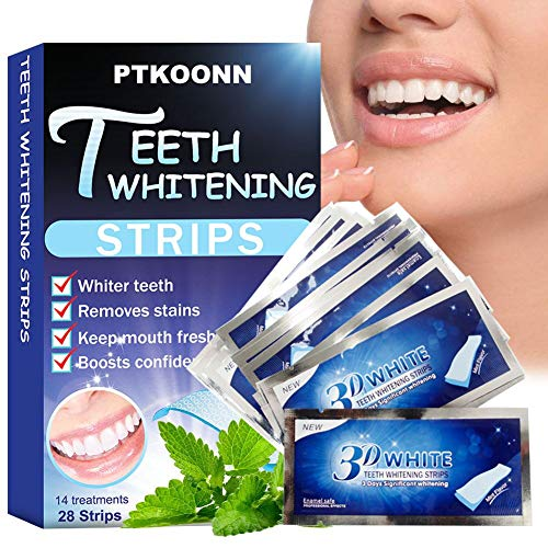 Teeth Whitening Strips, Tiras Blanqueadoras Dientes,Teeth Wh