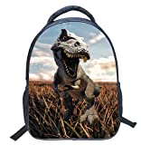 Mochila infantil – Dinosaurio 3D impreso bolsa escolar conjunto...
