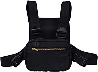 Outdoor sports chest bag,tactical chest bag, men's and women's equipment. Leisure running, hiking